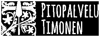 Pitopalvelu Timonen Oy -liiketunnus